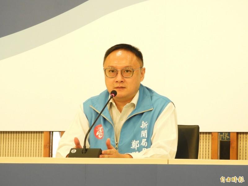 高雄市新聞局長鄭照新表示,投票日韓市長仍會安排勘查行程,但為了避免引起不必要的爭議,傾向不公開。(記者葛祐豪攝)