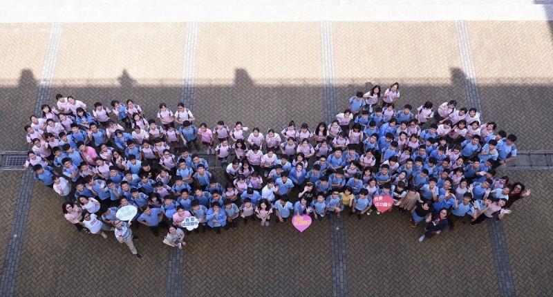 國中教育會考成績公布,新竹縣成功國中482名考生,5A以上有180人、占37.3%較去年大幅進步,整體成績傲人,成為北部公立學校耀眼的一顆星!(成功國中提供)