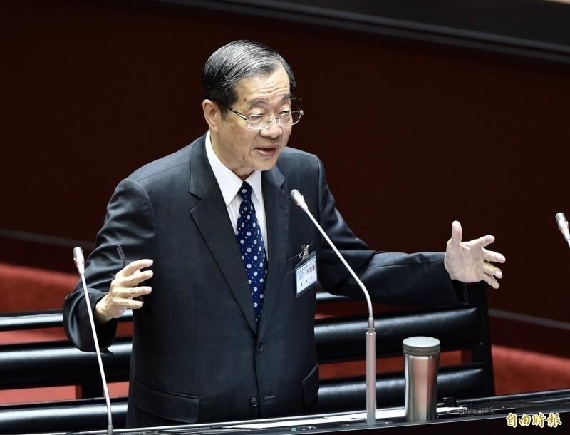 立法院投票同意由前教育部長黃榮村(見圖)出任第13屆考試院院長。(資料照)