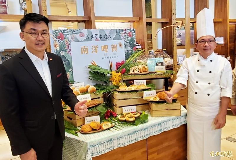 「以麵包閱讀世界」一直是吳寶春麥方店的精神,藉著麵包帶大家體驗當地的美好生活印象和感受。(記者張忠義攝)