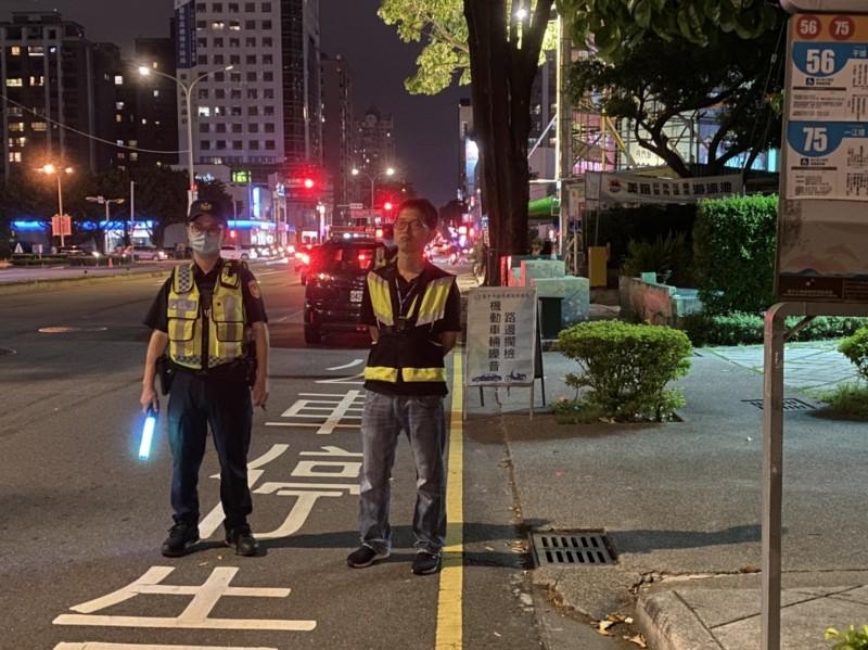 警方近期持續執行各項路檢專案。(記者張瑞楨翻攝)