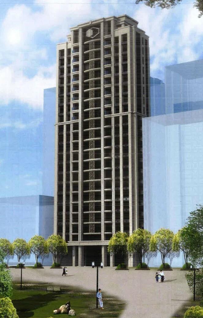 都新後將改建為地上21層、地下5層鋼筋混凝土造的集合住宅大樓,總戶數91戶。 (圖由都市更新處提供)
