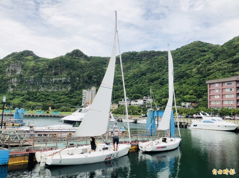 基隆碧砂漁港、海科館、長潭漁港、潮境公園到101高地的廊帶,可以從事帆船、遊艇、潛水、浮潛、無動力帆船、獨木舟等體驗,各式水上遊憩型態娛樂通通都有。(記者林欣漢攝)