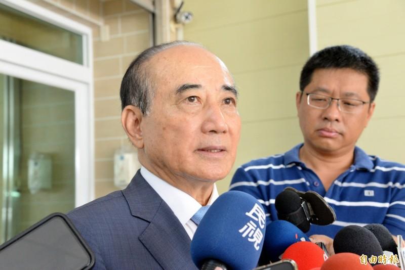 王金平將擔任李登輝的治喪委員。(記者許麗娟攝)