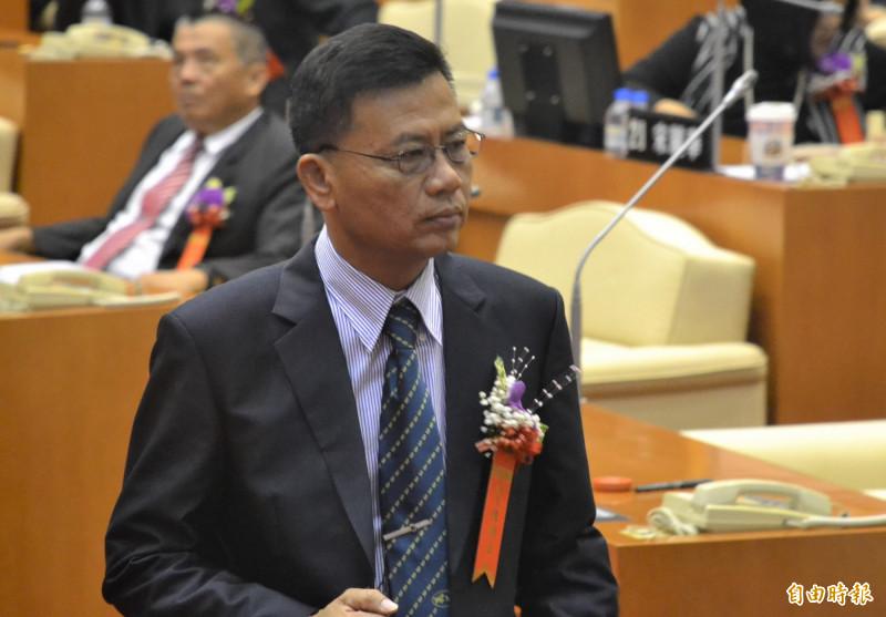 屏東縣議員陳明達對於抄襲風波表達歉意。(資料照)