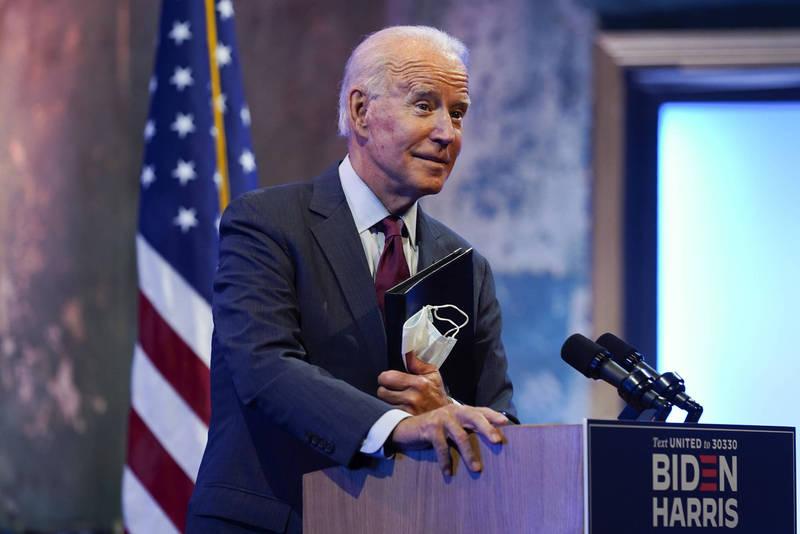 外界預期拜登會入主白宮,他的對中政策成為重要焦點。(美聯)