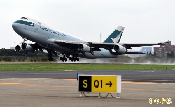 香港國泰航空計畫以193.8億元收購廉航香港快運。(資料照,記者朱沛雄攝)