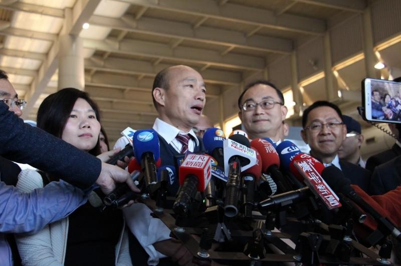 高雄市長韓國瑜前往港澳訪問。(高市府提供)