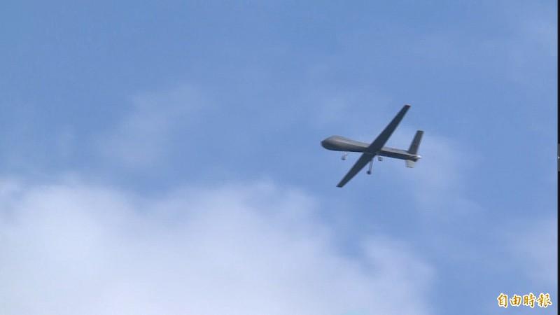 「騰雲」無人機在空中飛行的英姿。(資料照)