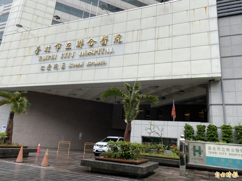 台北市立聯合醫院為因應2019新型新型冠狀病毒疫情,自25日起進行全院門禁管制,限制出入口,並謝絕所有探病訪客。(記者楊心慧攝)
