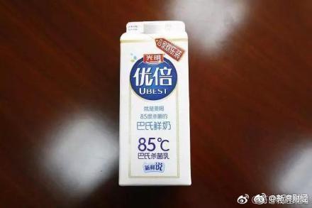 二審法官認為光明牛奶的「85℃」僅代表一種殺菌溫度,判台灣「85度C」敗訴。(圖截取自微博)