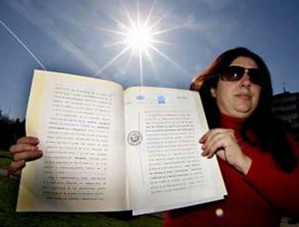 西班牙女子杜蘭找到國際條約中的漏洞,成功向西班牙政府申請到太陽的所有權。(圖取自都會報)