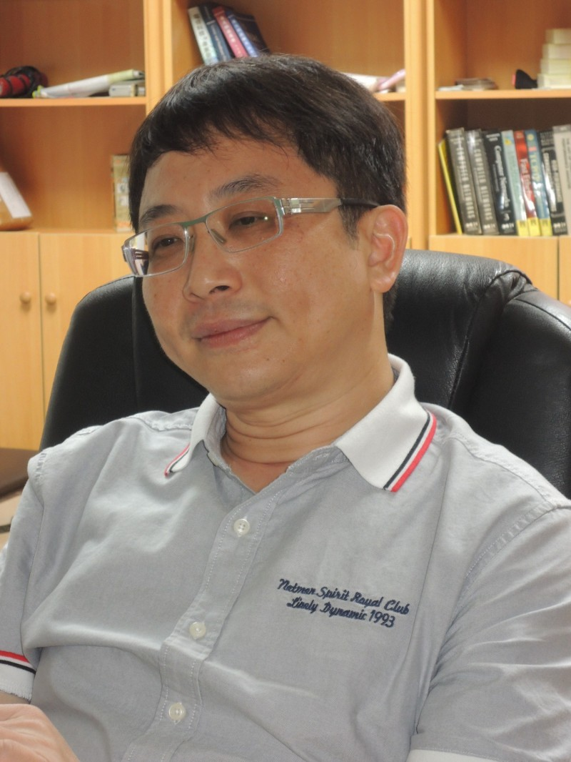 成功大學教授李忠憲。(擷取自臉書)