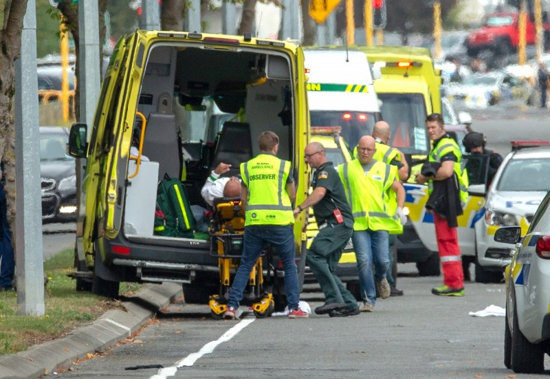 紐西蘭基督城清真寺發生嚴重槍擊事件,死傷情形嚴重。