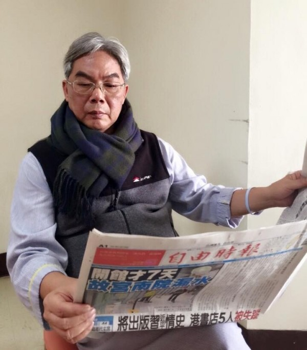 花蓮市長田智宣今晨逝世。(資料照,翻攝市長夫人張美慧臉書)