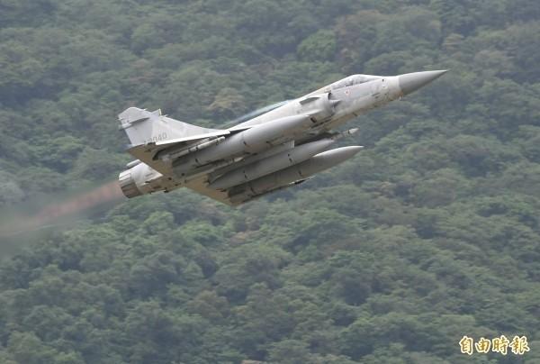 幻象2000戰機。(資料照)