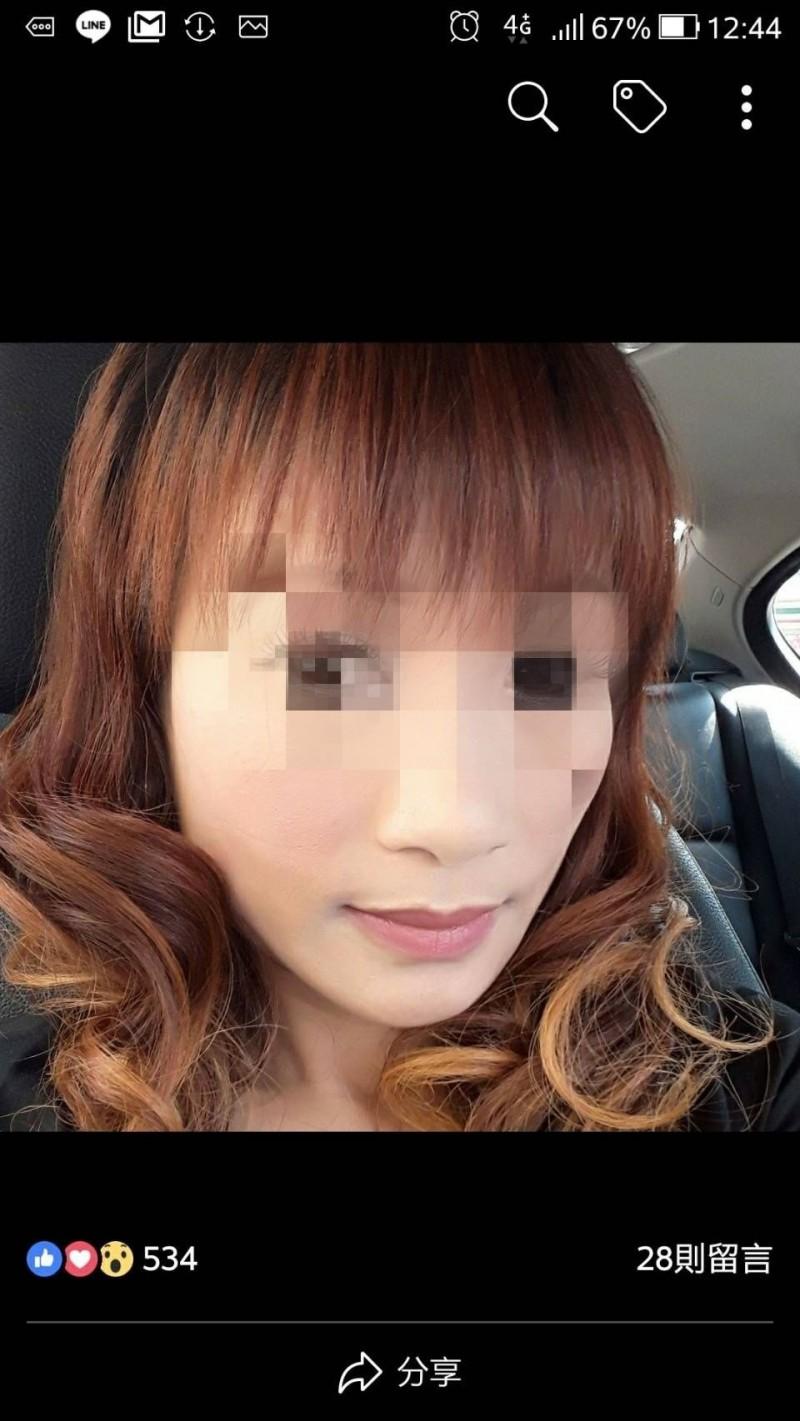 涉嫌殺害前男友的尤姓女子。(資料照,取自尤女臉書)