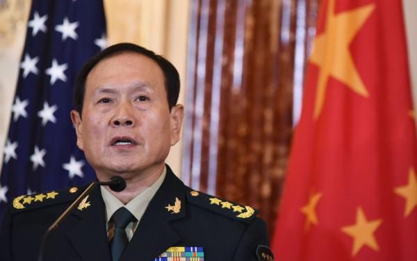 魏鳳和表示,如果中國的領土完整受到威脅,台灣從中國分裂出去,將像當年美國南北戰爭一樣,不惜任何代價,維護中國主權。(法新社)