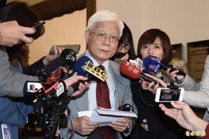 台灣社社長張葉森受訪透露,據他所知「蔡賴配是配不成」。(資料照)