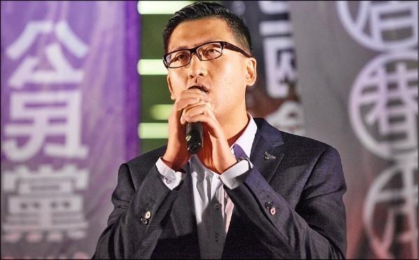 香港立法會議員林卓廷。(歐新社資料照)