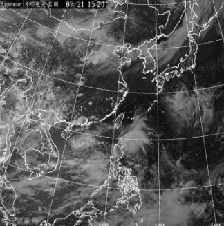受熱帶性低氣壓接近影響,巴士海峽、臺灣東南部海面及臺灣海峽南部風浪將增強,氣象局提醒航行及作業船隻需特別注意。(中央氣象局)