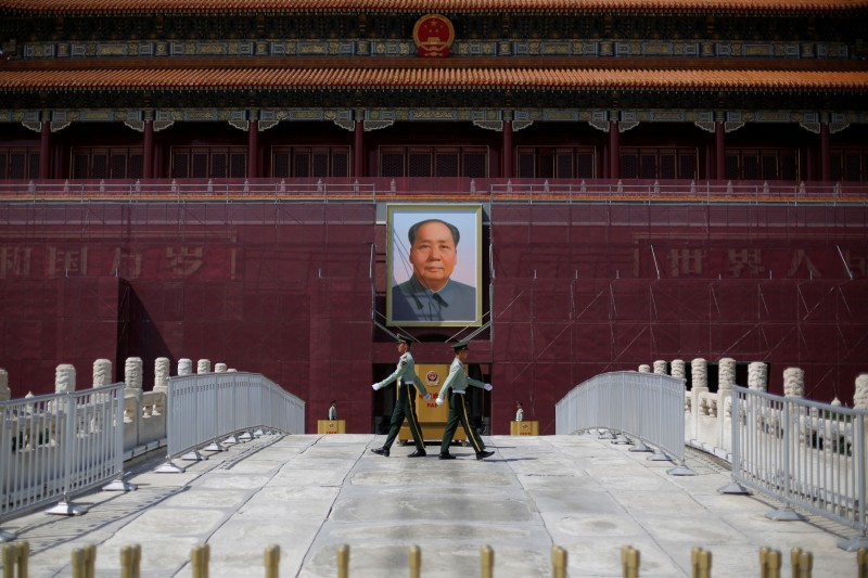 1989年6月4日中國派出軍隊大肆屠殺在天安門廣場上的學生和市民,如今恰逢六四事件30週年,中國祭出AI來協助審查網路言論。(路透)