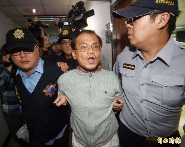 打傷台北市勞動局長賴香伶的李明彥,今天凌晨被北檢聲押。(資料照,記者方賓照攝)