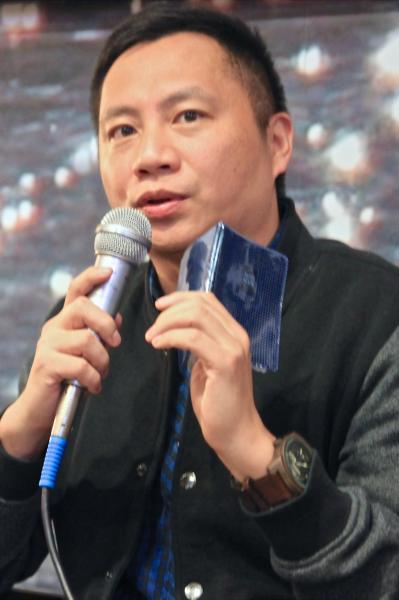 王丹今天在臉書表示,據網友消息指出,中共現在說真正的他在六四時已經死了,現在在台灣的他是假的。(資料照,記者彭健禮攝)