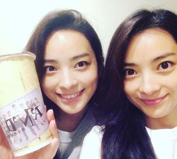 有網友找出這對雙胞胎其實是台灣女子團體「A'N'D」的日本成員Anna與Reina。(圖擷取自PTT)