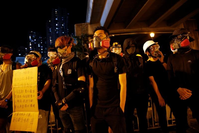 香港民眾抗議不斷。(路透)