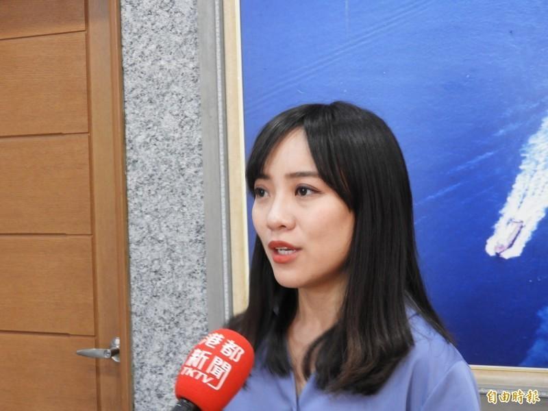時代力量高雄市議員黃捷呼籲黨除名徐永明,以示公信。(資料照)
