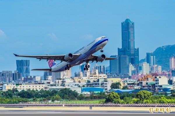 華航機師工會無預警發動罷工,部分航班因此受到影響。(資料照)