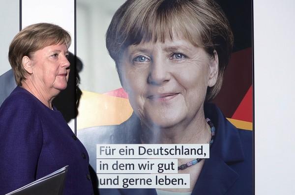 根據德國媒體的調查,德國1995年後出生的年輕人,因為從沒見過男性擔任總理,普遍不認為男性有足夠的能力勝任總理一職。圖為德國現任總理梅克爾。(資料照,彭博)