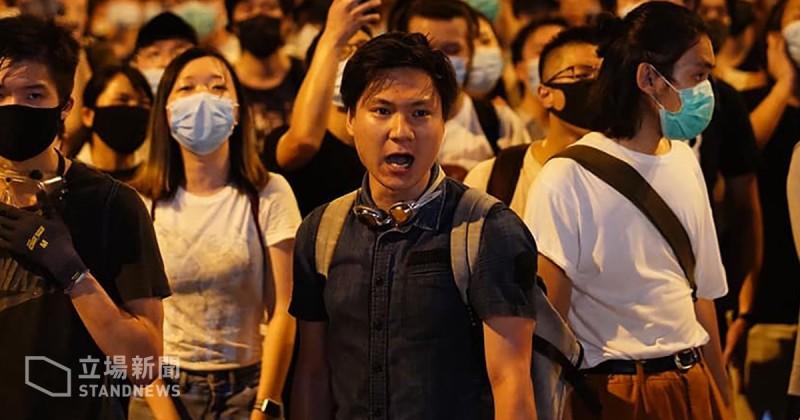 據傳「學生獨立聯盟」召集人陳家駒在衝突中被捕。(擷自立場新聞)