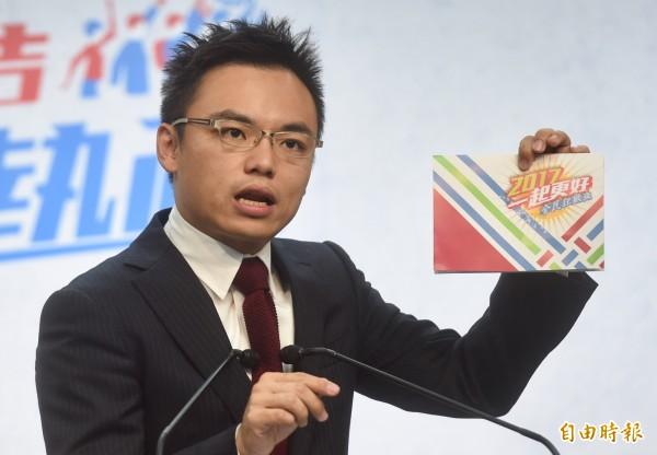 國民黨文傳會副主委洪孟楷。(資料照,記者簡榮豐攝)