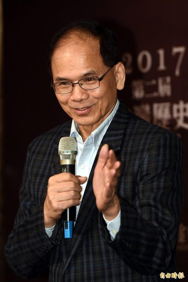 針對龍潭購地案,前行政院長游錫堃認為,陳水扁應該無罪!(資料照,記者趙世勳攝)