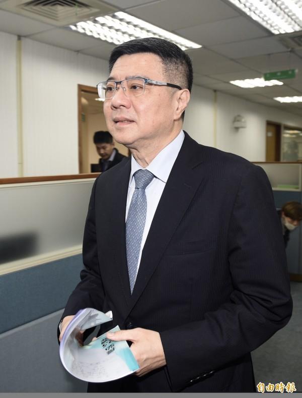 民進黨主席卓榮泰。(資料照,記者羅沛德攝)