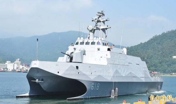 海軍沱江級巡邏艦。(資料照)