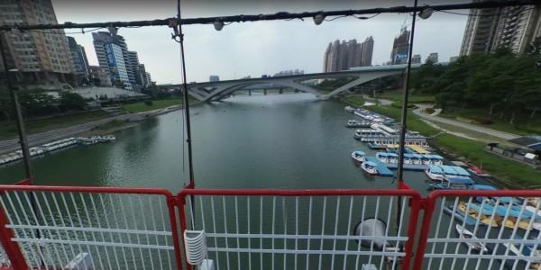 輔仁聖博敏神學院教授甯永鑫在碧潭高速公路橋下失足落水身亡。(取自Google)