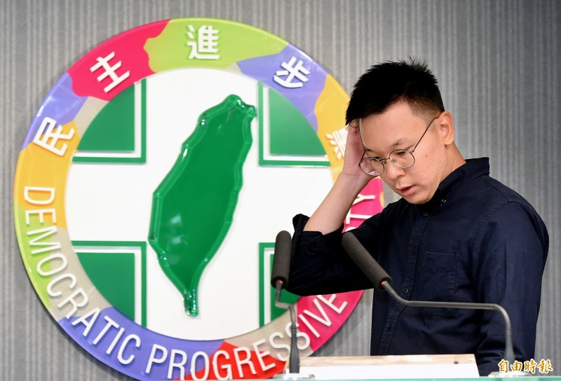 民進黨副秘書長林飛帆。(資料照)