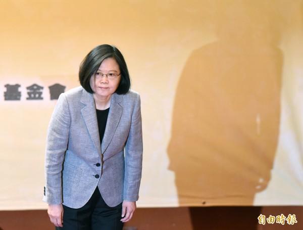 蔡英文指出,這段時間以來,台灣社會對於勞基法修正案有許多寶貴的意見和批評,強調這些意見行政部門、民進黨黨團,或者是總統本人都「虛心接受。」(資料照,記者廖振輝攝)