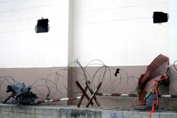 這名11名維吾爾人去年11月在泰國越獄(圖)後,逃往馬來西亞,後因非法入境而遭當局拘押,盡管中國政府一再要求將人送返北京,但這11人被馬國釋放後,已被送往土耳其。(歐新社)