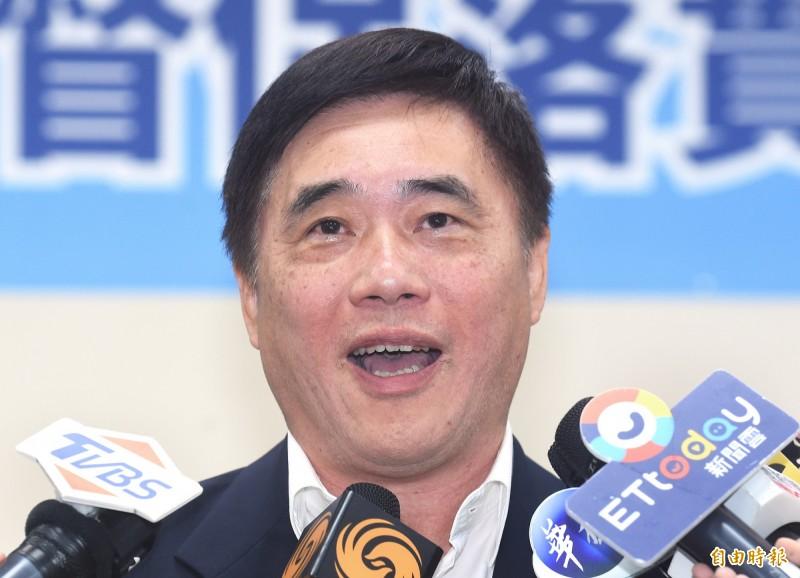 郝龍斌說,國民黨現在就有3成黨員投票、7成民調,如果超過2分之1以上參選人同意可改為全民調的初選辦法,回歸原制度可以避免最多爭論。(資料照)