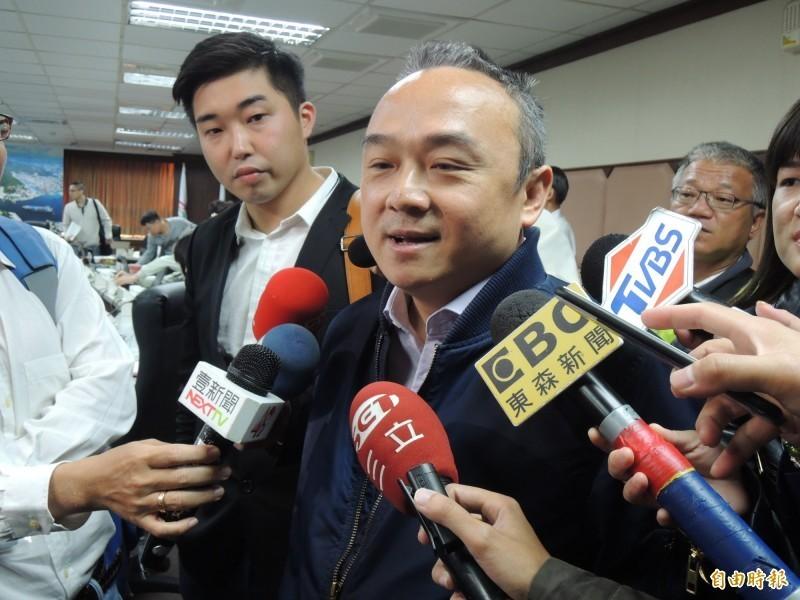 潘恒旭認為,郭台銘參選前應該要和韓國瑜打聲招呼。(資料照)
