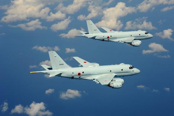 日本自衛隊未來將著手開發電子攻擊機。圖為P1巡邏機。(圖擷取自海上自衛隊官方網站)