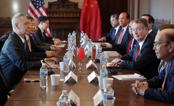 專家認為,如果中國想用拖延戰術應對貿易戰,可能會有風險。(法新社)