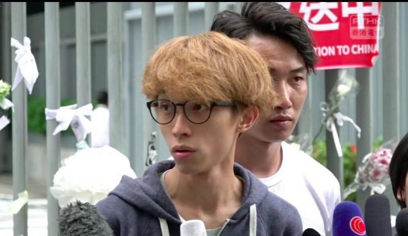 香港公民團體「民間人權陣線」今天傍晚召開記者會表示,接下來會努力籌備「七一遊行」。圖為今日記者會現場狀況。(圖擷取自反送中已核實資訊頻道)