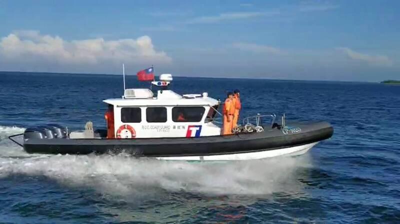 海巡新造多功能艇已有2艘進駐東沙島。(海巡署提供)