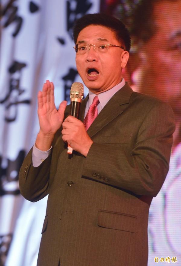 胡忠信在政論節目上稱台灣3個月就可造出原子彈。(資料照,記者王藝菘攝)