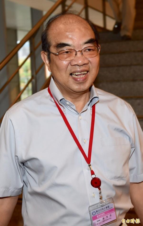 前東華大學校長吳茂昆將接任教育部長。(資料照)